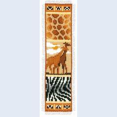 Bookmark Safari 8 - counted cross-stitch kit Vervaco