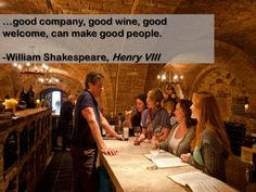 true Famous Wines, Funny Wine, Wine Quotes, Good Company, Shakespeare, Good People, Funny Quotes, Humor, How To Make
