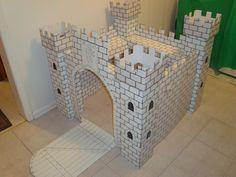 Princess castle cardboard | Crafty Goodness | Pinterest | Party Idea ...