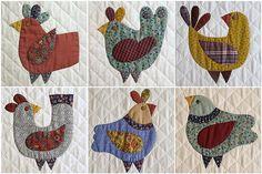6 vogeltjes