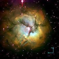 Trifid Nebula by Hubble space telescope