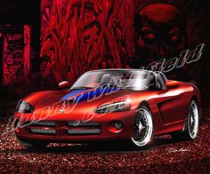 2007 DODGE VIPER (HEAT SEEKER)  Available at: http://www.dannywhitfield.com/streetrod.html