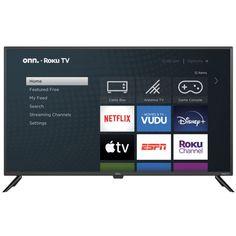 onn. 100018254 42-Inch Roku LED Smart HDTV $88 (56% off) @ Walmart
