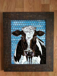 Cow Commission | By BaileyRae Mosaics