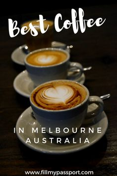 Heading to Melbourne Australia? The city is KNOWN for its incredible coffee culture. Check out these four stops that seriously belong on Melbourne foodie tours for their quality roasts, crafted drinks, and additional perks. Melbourne Travel, Melbourne Coffee, Cairns Queensland, Australia Tourism, Airlie Beach, Coffee Culture, Melbourne Australia, South Australia, Victoria Australia