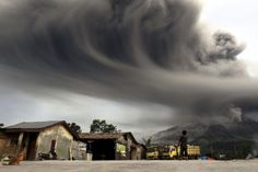 The Eruptions of Mount Sinabung - In Focus - The Atlantic