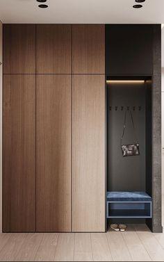 Hallway Furniture, Bedroom Furniture Design, Modern Bedroom Design, Home Room Design, Home Interior Design, Wardrobe Door Designs, Wardrobe Design Bedroom, Closet Designs, Wardrobe Doors