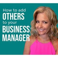 How to Add Others to Business Manager Marketing Tools, Content Marketing, Social Media Marketing, Career Inspiration, Facebook Marketing, Instagram Tips, Social Media Tips, Pinterest Marketing, Giveaways