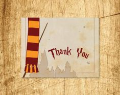 Printable Harry Potter Thank You Card! The card is The card fits a… Harry Potter Birthday Cards, Harry Potter Cards, Printable Cards, Printables, Birthday Thank You Cards, Believe In Magic, Blank Cards, Girl Scouts, Eye Candy
