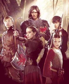 I want them to finish making the Narnia series, stupid copywriter dispute
