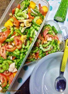 Ensaladang Ampalaya (Bitter Gourd Salad) | Pinoy Kusinero