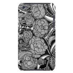 A unique Gardens #16 hand drawn art iPod case iPod Touch Case-Mate Case