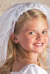 First Communion Veils and Headpieces - page 3