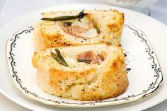 Gouda, sage and ham pinwheels – Recipes – Bite