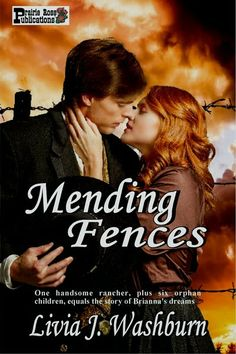 A man trying to live down his violent past. A woman afraid to tell anyone who she really is. A bunch of adorable children (even if they are rascals), and danger from every direction in a tale based on a real Texas fence war. MENDING FENCES is high-action, heart-melting western romance at its finest.