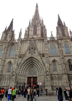See 5560 photos and 237 tips from 33834 visitors to Catedral de la Santa Creu i Santa Eulàlia. Barcelona Cathedral is NOT, as many. Holy Cross, Barcelona Cathedral, Saints, Iglesias, Architecture, Travel, 19th Century, Buildings, Viajes