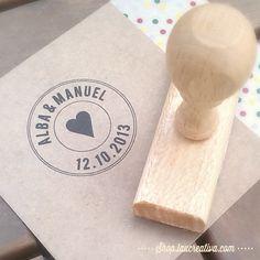 Sello personalizado http://shop.laucreativa.com/product/sello-personalizado