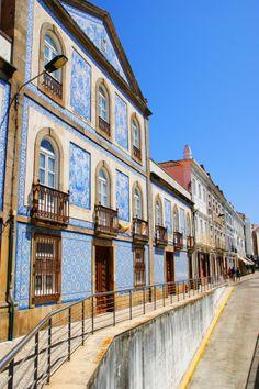 Aveiro - Casas para a Praça Marquês do Pombal  Portugal