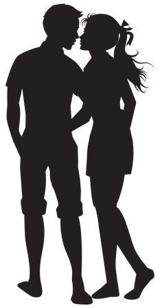 Gallery - Recent updates Couple Silhouette, Silhouette Painting, Silhouette Clip Art, Silhouette Images, Shadow Images, Shadow Art, Image Couple, Couple Art, S Love Images