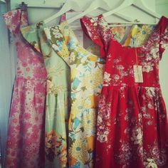 Made to Order Scarlett Dress in vintage fabric <3 | Custom Made by Rummage Style, Australia
