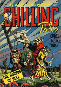 Comic Book Cover For Chilling Tales #15