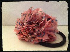 Tape Rose. #Hair #accessory #rose