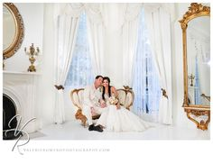 Santiny Wedding The White Room Nottoway Plantation http://www.valerieromerophotography.com