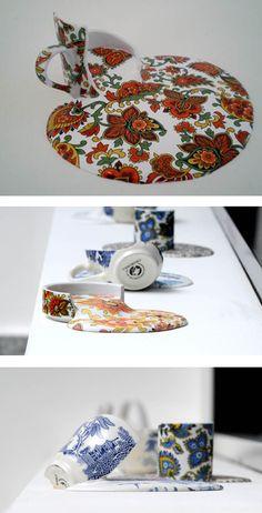 """Chilean artist Livia Marin showcases """"Broken Things"""""""