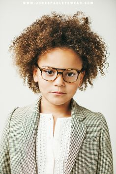 The Ainsley Frame // inspired eyewear for children // www.jonaspauleyewear.com