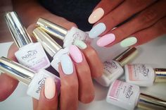 Pastel Fresh New Colour from Natalia Siwiec by Emilia Tokarz Indigo Young Team Kraków Love Nails, Pink Nails, Pretty Nails, Coffin Nails, Acrylic Nails, Acrylics, Gel Nails French, Indigo Nails, Gel Nail Colors