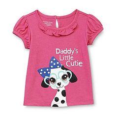 ***WonderKids Infant & Toddler Girl's T-Shirt - Dog