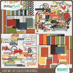 Love My Life Collection Bundle :: Gotta Grab It :: Gotta Pixel Digital Scrapbook Store by Meagan's Creations