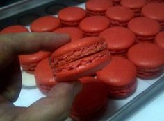Yum!!  Pro Chef Joey E. Prats shares his recipe for Italian method of making MACARONS here at Cheftalk.com.