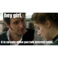 LOL  - BBC adaptation of North and South by Gaskell. Absolutely love the book and the series!
