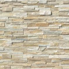 Golden Honey Ledger Panel 6 In. X 24 In. Natural Quartzite Wall Tile (30 Sq. Ft…