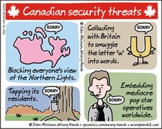 Canadian security threats | Wrong Hands
