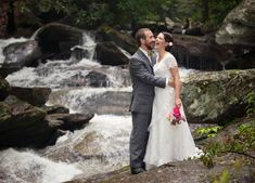 Laughing Waters Retreat, Hickory Nut Gorge outdoor wedding venue near Asheville, NC Waterfalls Near Asheville Nc, North Carolina Waterfalls, Wedding Reception Locations, Outdoor Wedding Venues, Waterfall Wedding, Chelsea Wedding, Glamorous Wedding, Laughing, East Tennessee
