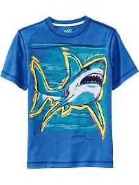 Boys Color-Changing Graphic Tees