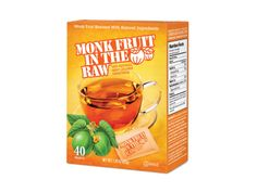 16 packets of monk fruit powder (such as Monkfruit In The Raw)