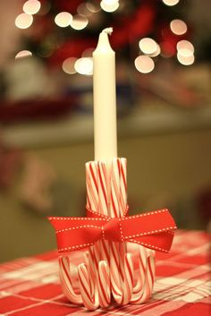 Candy cane candlestick                                                                                                                                                                                 More