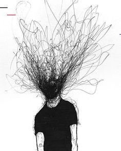 creepy ink drawings - creepy ink drawings + pen and ink drawings creepy + ink pen drawings creepy Scary Drawings, Dark Art Drawings, Graphite Drawings, Simple Drawings, We Heart It Wallpaper, Art Du Croquis, Art Noir, Scribble Art, Film Disney