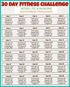 Are YOU ready to get FIT FOR FALL or COMMIT TO BE FIT?!?!!?? Then join us in Septembers 30 day Fitness challenge. Find us on FB to join our group. Great MOTIVATION AND ACCOUNTABILITY found there!!!