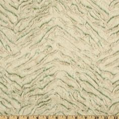 Minky Frosted Zebra Cuddle Olive - Discount Designer Fabric - Fabric.com