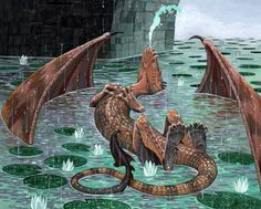 dragon...cooling off