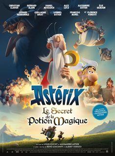Asterix: The Secret of the Magic Potion Astérix: Le secret de la potion magique (original title) Film Fr, Film Movie, Top Movies, Movies To Watch, Captain Marvel, Milla Jovovich, Alexandre Astier, Soundtrack