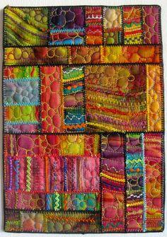 Carol Ann Waugh SAQA piece. Love it!