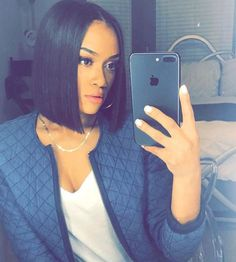 Love this blunt bob on @diamondmarett - https://blackhairinformation.com/hairstyle-gallery/love-blunt-bob-diamondmarett/