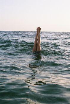 Sous l'eau... ou presque