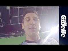 Lionel Messi: Football Skills via the Messi-Cam   Gillette