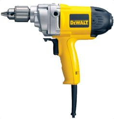 Dewalt D21520 Rotary Drill ariable speed reversing switch offers greater control for a wider range of applications 550 RPM provides increased torque for heavy duty drilling and mixing Robust design and metal gear case for greater durability 2-position rear spade handle and 3-position side handle gives greater control For More Details: http://www.mrthomas.in/dewalt-d21520-rotary-drill_175